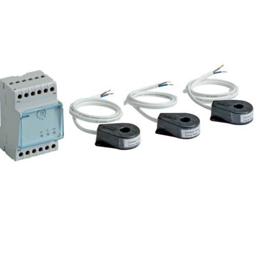 Elektromos autótöltőhöz épület terhelésszabályozó készülék áramváltóval Witty (Hager XEV305 )
