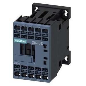 Mágneskapcsoló, 5,5Kw/12A (400V, AC3), 42V AC 50/60 Hz vezerlés, 1Ny segédérintkezővel, rugós csatlakozás, S00 méret, Sirius (Siemens 3RT2017-2AD02)