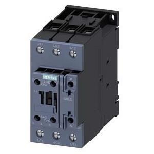 Mágneskapcsoló, 22Kw/50A (400V, AC3), 24V AC 50/60 Hz vezerlés, 1Z+1Ny segédérintkezővel, csavaros csatlakozás, S2 méret, Sirius (Siemens 3RT2036-1AC20)