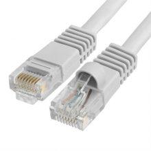 Szerelt patch kábel FTP Cat5e 0,5 m PVC SZÜRKE