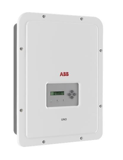 ABB, UNO-DM-4.0-TL-PLUS-SB, Szolár Inverter napelemes rendszerhez, fali kivitelben 1 fázisú 4000VA teljesitménnyel ABB solar (UNO-DM-4.0-TL-PLUS-SB)