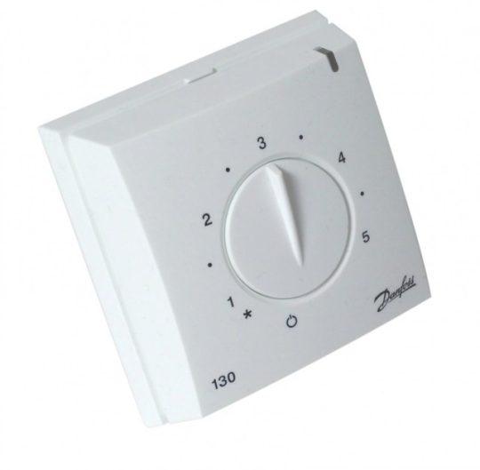 Danfoss 088L0030 ECtemp 130 - padlóhőmérséklet szabályozó, max 3,6 kW