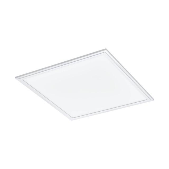 EGLO 33107 SALOBRENA-RGBW raszterbe építhető LED (RGBW-s) szabályzósmennyezeti lámpa, fehér színben, MAX 21W telj., LED-es, 2400lm , 4000K 45x45cm, RGBW, vezérlés távirányítóval (távirányító tartozék)