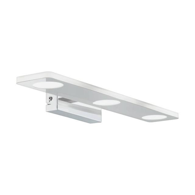 EGLO 96937 CABUS beltéri tükörvilágító LED IP44 fali lámpa, króm színben, MAX 3X4,5W teljesítménnyel, LED fényforrással, 3000K színhőmérséklettel, kapcsoló nélkül, IP44 védettséggel ( EGLO 96937 )