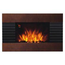 HOME elektromos, ventillátoros, fali látványkandalló, valósághű lángeffekttel, változó színben, max 2000 W teljesítménnyel, elektronikus termosztáttal, IP20 védelem, programozható (heti) HOME (FKK 2100)