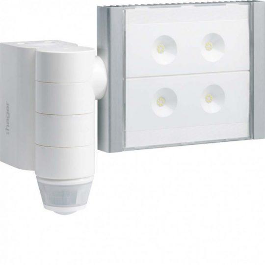 Hager EE600 Falon kívüli, kültéri mozgásérzékelő, LED reflektorral, LED teljesítmén 60W