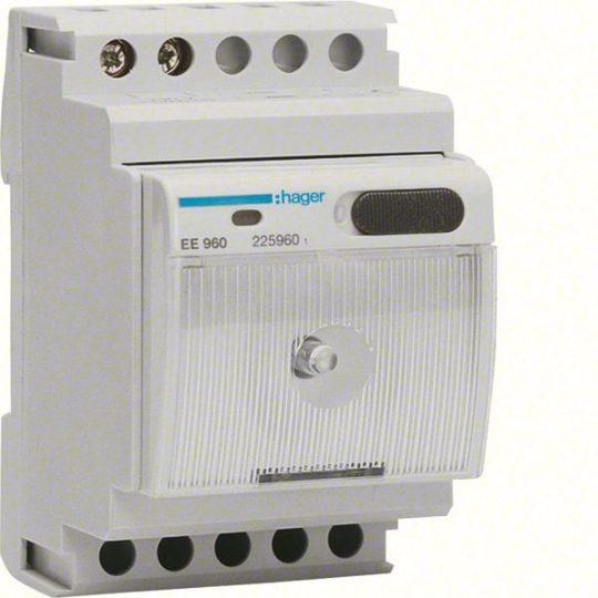Hager EE960 Kompakt lámpa, moduláris, kivehető, 230V AC