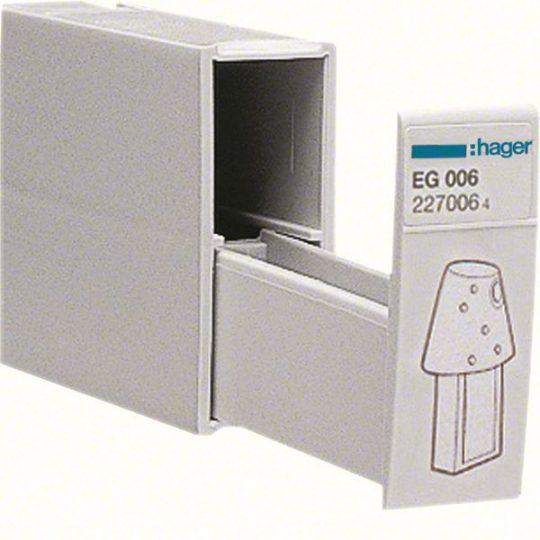 Hager EG006 Tároló rekesz programozó kulcsokhoz