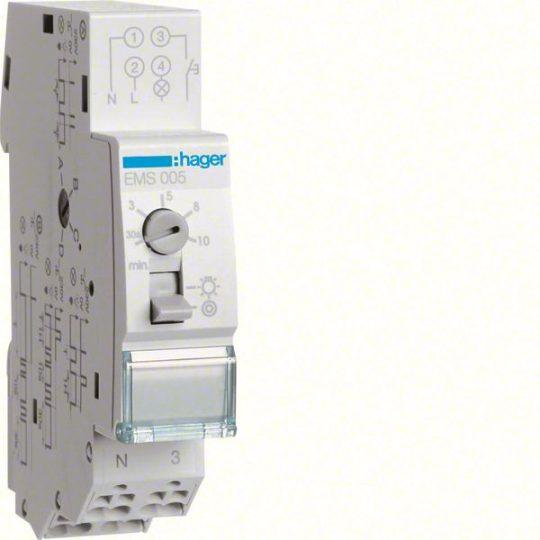 Hager EMS005 Multifunkcios lépcsöházi automata