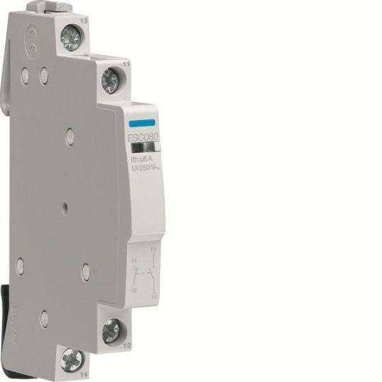 Hager ESC080 Segédérintkező 1Ny+1Z mágneskapcsoló