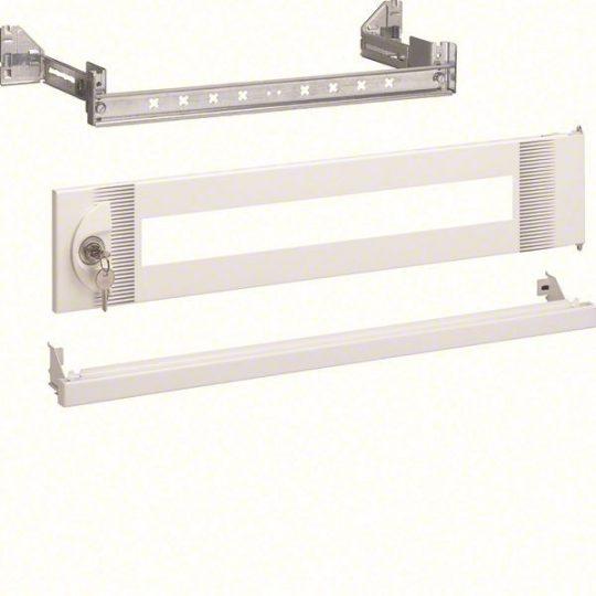 Hager FC350 Quadro 4 állítható moduláris sín, zárható ajtóval