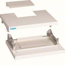 Tető és alap panel 370 széles szekrényekhez, IP40, Quadro4 (Hager FC415)