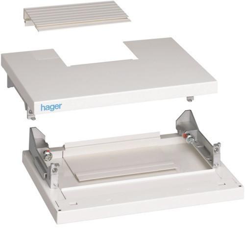 Hager FC419 Quadro 4 tartalék gyári kábelbevezető IP40, 370mm szekrényhez