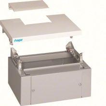 Tetőpanel és lábazat 370 széles szekrényekhez, IP40, Quadro4 (Hager FC445)