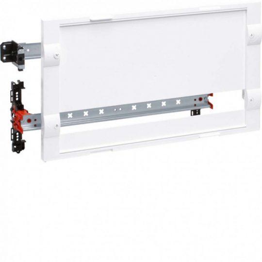 Hager FD02A3 Modulkészülék beépítőkészlet, 21 teli és 1x24 moduláris sor, 300mm magas