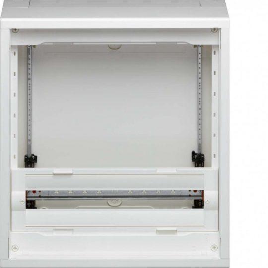 Hager FD32AN Vega D, 3 soros, falon kívűli elosztó, félig előszerelt, ajtó nélkül, 300mm üres hely (2 sor), 60