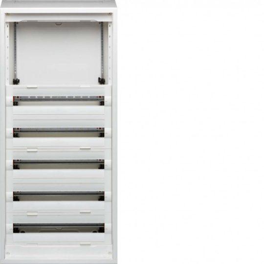 Hager FD72AN Vega D, 7 soros, falon kívűli elosztó, félig előszerelt, ajtó nélkül, 300mm üres hely (2 sor), 12