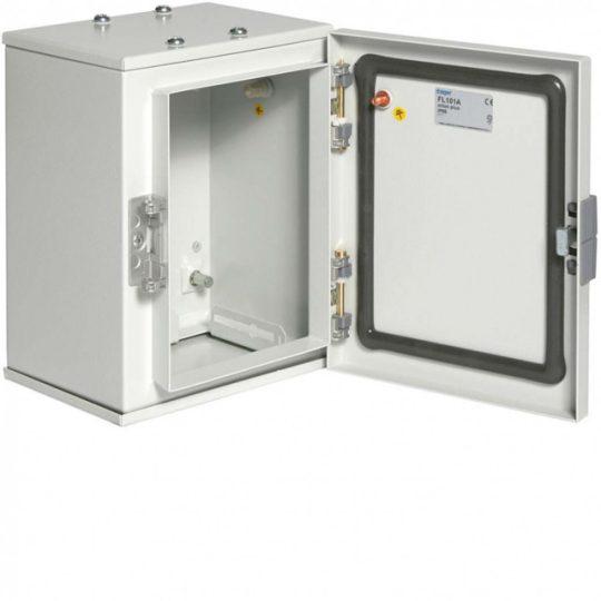 Hager FL101A Orion Plus fémszekrény, IP65, teli ajtós, 250x200x160mm