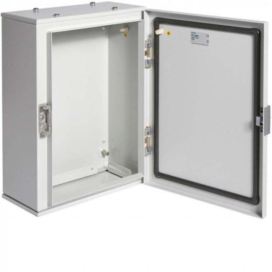 Hager FL106A Orion Plus fémszekrény, IP65, teli ajtós, 400x300x160mm