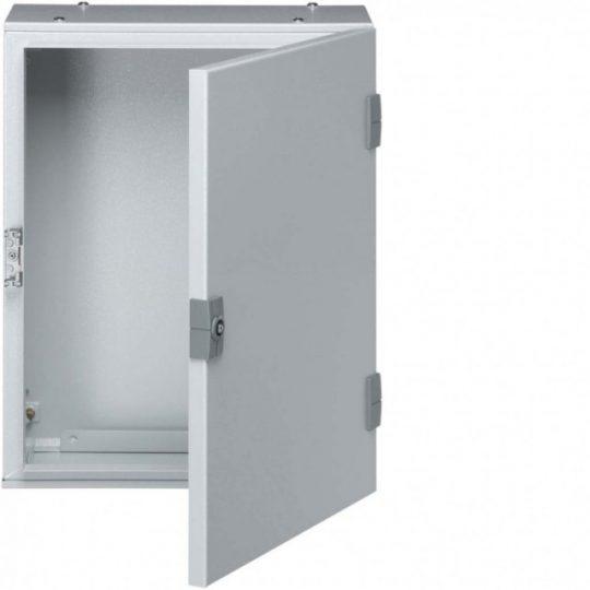 Hager FL107A Orion Plus fémszekrény, IP65, teli ajtós, 400x300x200mm