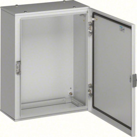 Hager FL113A Orion Plus fémszekrény, IP65, teli ajtós, 500x500x200mm