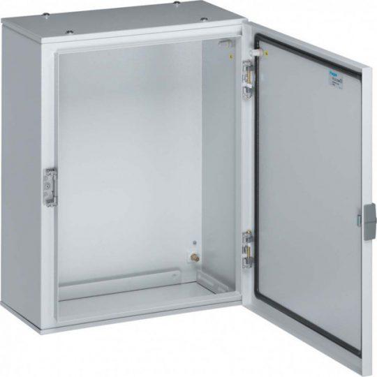 Hager FL115A Orion Plus fémszekrény, IP65, teli ajtós, 600x400x250mm