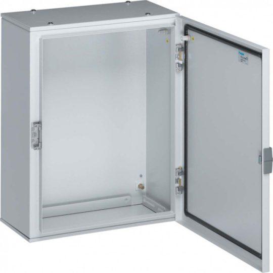 Hager FL116A Orion Plus fémszekrény, IP65, teli ajtós, 600x600x250mm