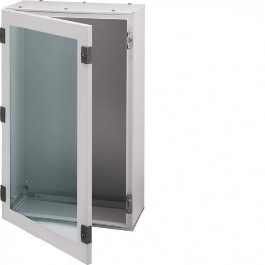 Hager FL151A Orion Plus fémszekrény, IP65, átlátszó ajtós, 250x200x160mm