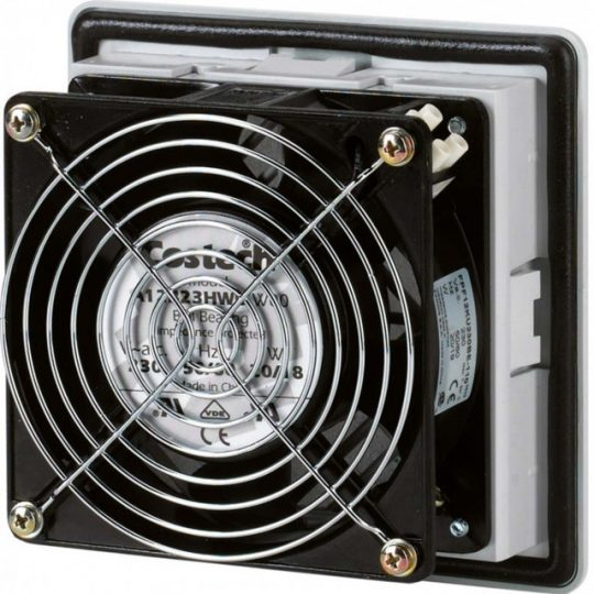 Hager FL208Z Ventilátor 30 m3/h, 105x105x64, 10W, IP54