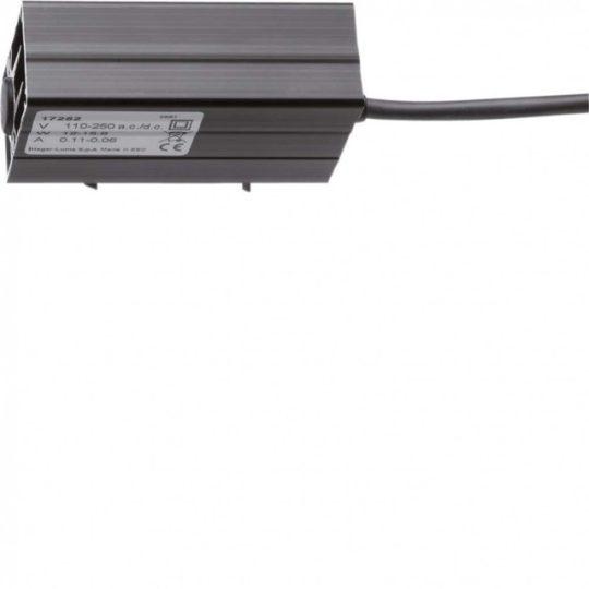 Hager FL255Z Quadro (Orion) ellenállásfűtés, 80W, 230V AC/DC, kalapsínre szerelhető