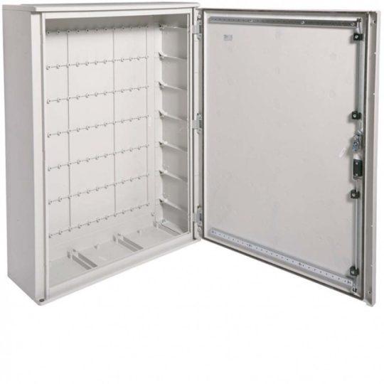 Hager FL307B Orion Plus műanyagszekrény, teli ajtóval, IP65, 1150x850x300mm, II. é.v. osztály