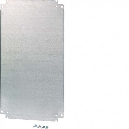 Hager FL510E Fém szerelőlap, 2 részes Orion Plusz elosztóhoz, 450x500mm (MxSZ)