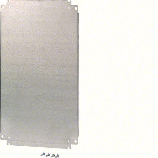 Hager FL520E Fém szerelőlap, 2 részes Orion Plusz elosztóhoz, 450x743mm (MxSZ)