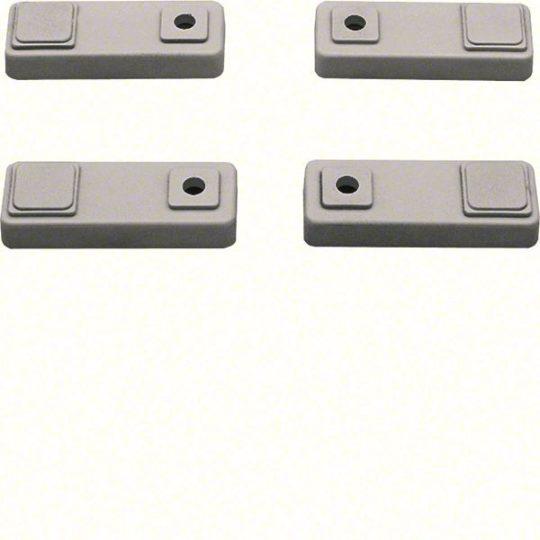 Hager FL863Z Orion Plus fali rögzítő fül, műanyag szekrényekhez, 4db