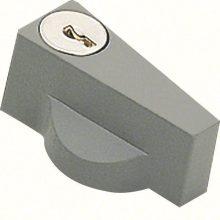 Kulcsos ajtózár, kulccsal egyedi N427 kóddal szállítva, csak az FL93Z zárbetétre szerelhető, Orion plus (Hager FL96Z)