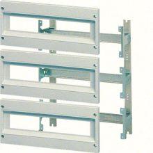 Komplett szerelőváz moduláris készülék beépítéséhez, 350x300mm (magxszél) szekrényekhez, 24 modul (2 sor x 12 modul), Orion plus (Hager FL980A)