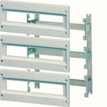 Komplett szerelőváz moduláris készülék beépítéséhez, 500x300mm (magxszél) szekrényekhez, 36 modul (3 sor x 12 modul), Orion plus (Hager FL981A)