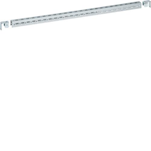 Hager FN862E Quadro+ evo perforált konzol, keresztrudakra, 25mm mag., 450mm széles cellához