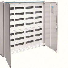Fém mezős elosztó, 336 modul, 7 sor, 1100x1050x161mm, teli ajtóval, IP44, falon kívüli, Univers (Hager FWB74)