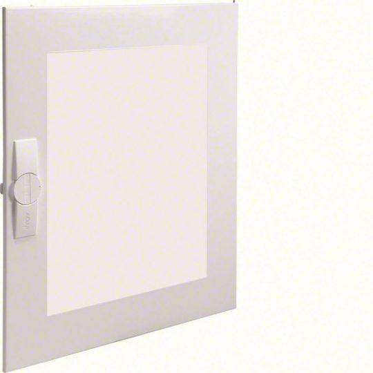 Hager FZ006FT Univers átlátszó ajtó, jobb oldali, sülly., IP30 elosztókhoz, 650x550mm
