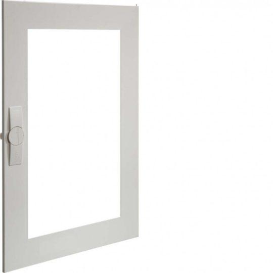 Hager FZ010FT Univers átlátszó ajtó, jobb oldali, sülly., IP30 elosztókhoz, 800x550mm