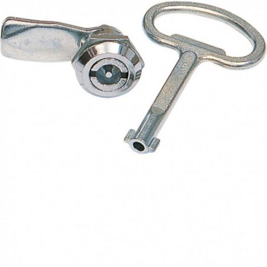 Hager FZ449 Quadro 4/5 zár, 3mm-es dupla tollal, 1db kulccsal