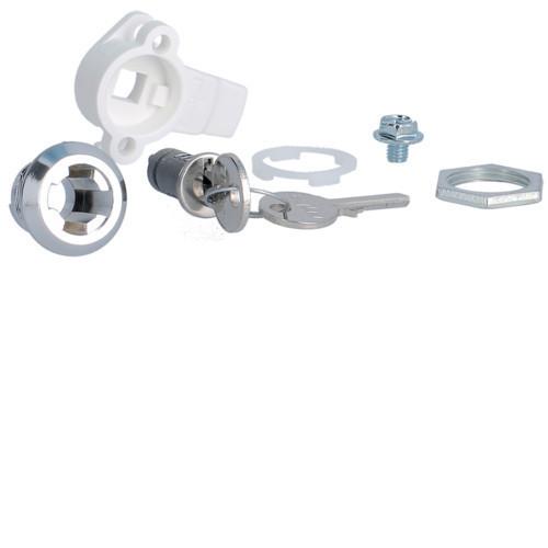 Hager FZ452 Quadro 4/5 kulcsos zár, 2db 405-ös kulccsal