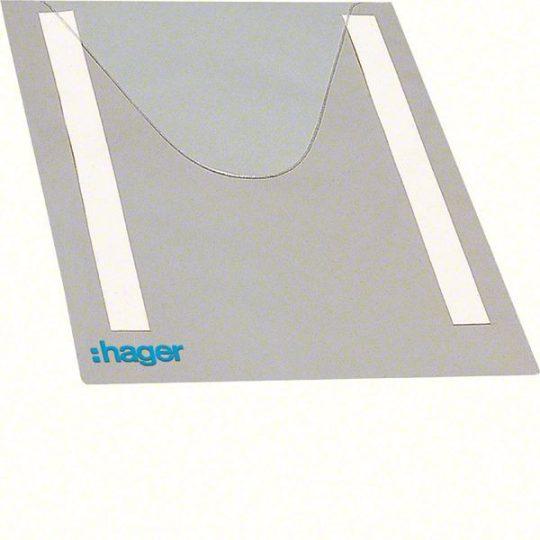 Hager FZ794 Univers tervtartó átlátszó műanyagból 230x310mm