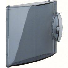 Műanyag füstszínű ajtó GD104N minielosztóhoz, Gamma (Hager GP104T)