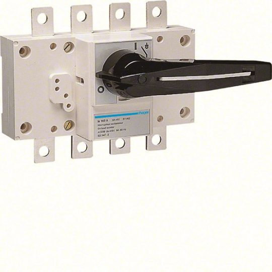 Hager HA452 Terheléskapcsoló leválasztás kijelzéssel, 4P, 160A