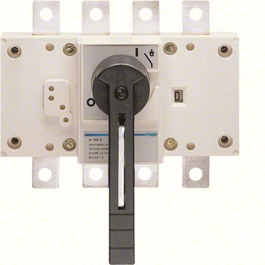 Hager HA454 Terheléskapcsoló leválasztás kijelzéssel, 4P, 250A