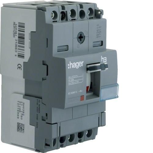 Hager HCA160H x160 kioldó nélküli kapcsoló, 3P, 160A