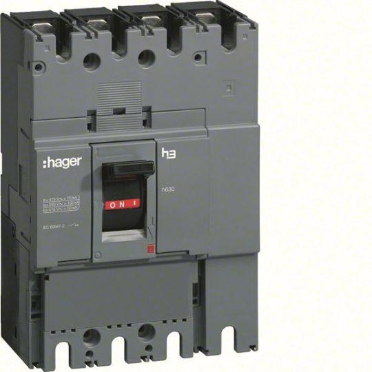 Hager HCD400H h400 kioldó nélküli kapcsoló, 3P, 400A
