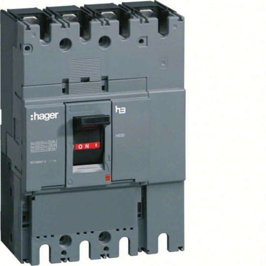 Hager HCD401H h400 kioldó nélküli kapcsoló, 4P, 400A